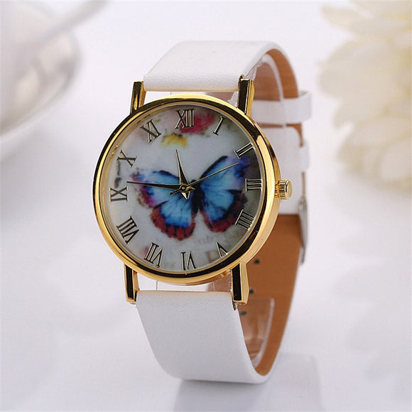 New Fashion Butterfly Analog Quartz Wristwatch