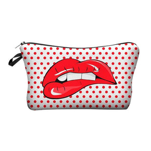 New Fashion Printing Makeup Bags With Multicolor Pattern