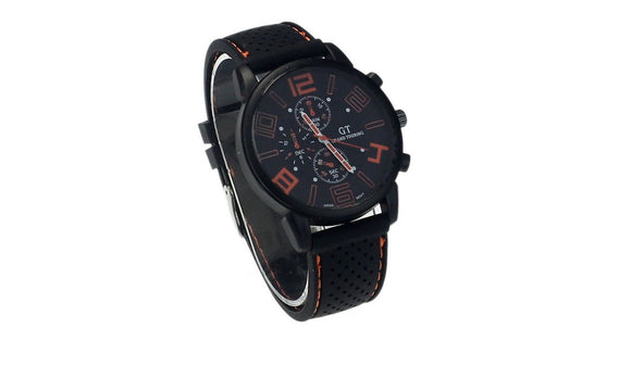 Men Wrist Watch Fashion Hot Sell Stainless Steel Luxury Sport Analog Quartz Clock