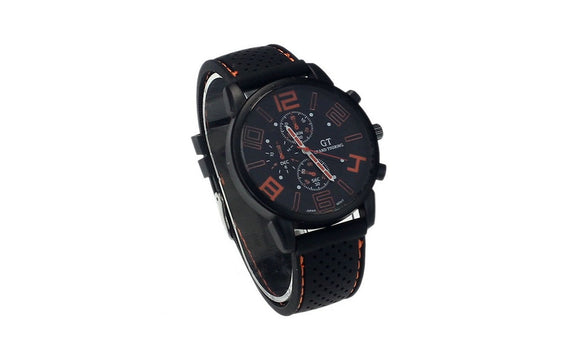 Men's Analog Quartz Clock Wrist Watch