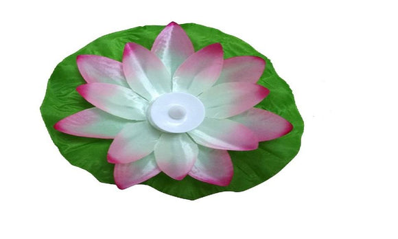 Artificial Lotus Colorful Changed Floating Flood Light