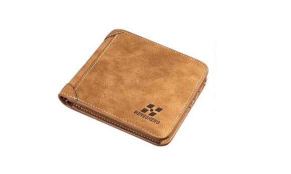 Luxury Pu Leather Card Holder Wallet For Men