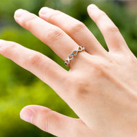 New Fashion Infinity Endless Love 8 Shape Ring