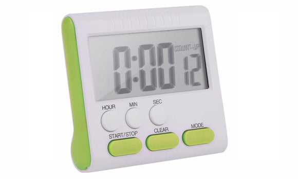 Multifunctional Practical Kitchen Timer Alarm Clock Cooking Supplies