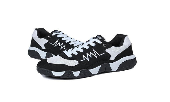 New Men Fitness Sports Lace-up Sneaker Jump Shoes