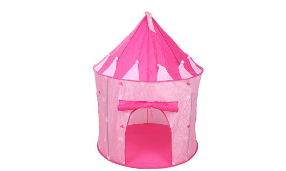 Play House Tent for Children Playhouse Portable Pink Pop Up Play Tent