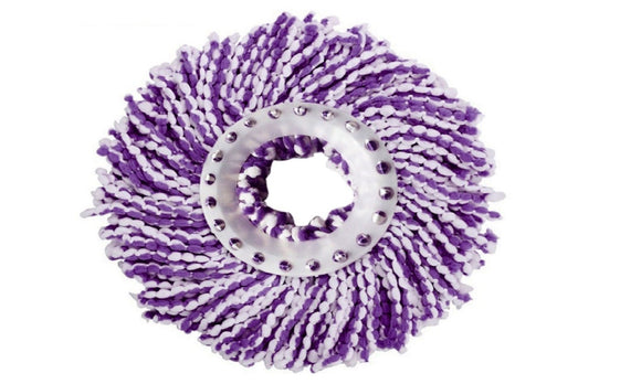 Microfiber Spinning Floor Mop Head for Housekeeper Home