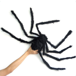 Spider Made Of Wire And Plush Halloween