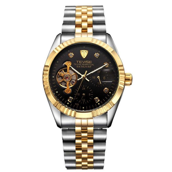 New Stylish Mechanical Automatic Winding Sport Watch