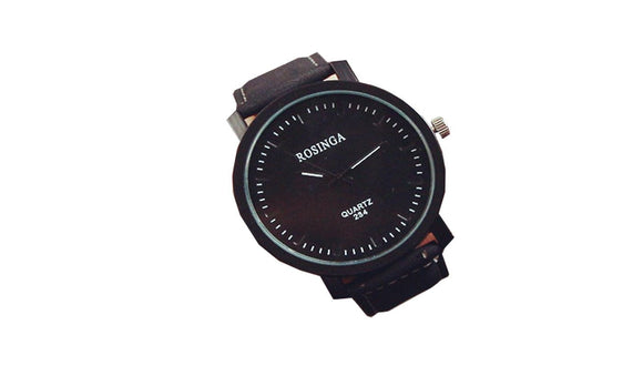 Luxury Brand Leather Strap Analog Watch