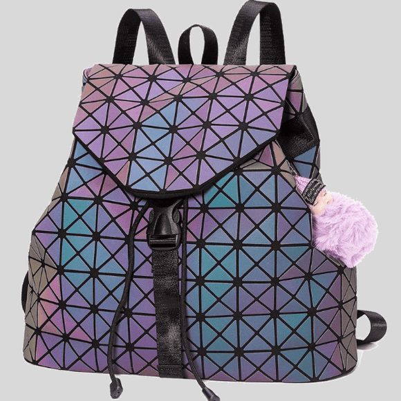 Women's Tote Luminous Bagpack - Grab The Attention