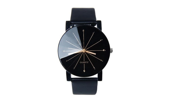 Brand New Luxury Pu Leather Dial Hour Analog Wrist Watch