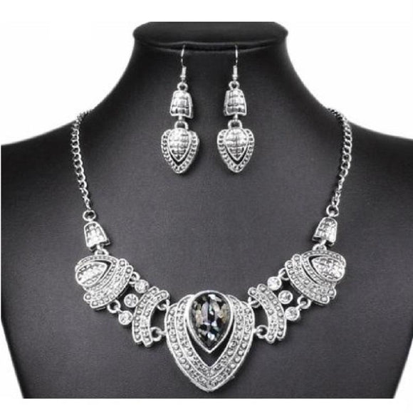 New Fashion Vintage Rhinestone Choker Chain Necklce