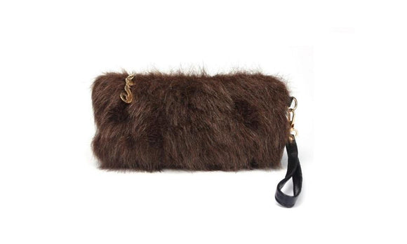 Small Hairy Bag Clutches