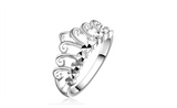 Anillos Mujer Cheap Retro Crown Wedding Ring for Women