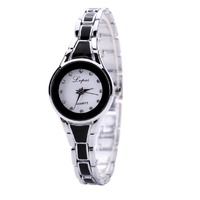 New Stainless Steel Mesh Luxury Quartz Wrist Watch Women's Watch