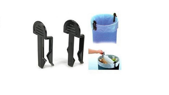 High Quality Plastic Black Garbage Clips