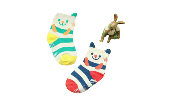 Soft Spring & Autumn Baby Newborn Sole Socks