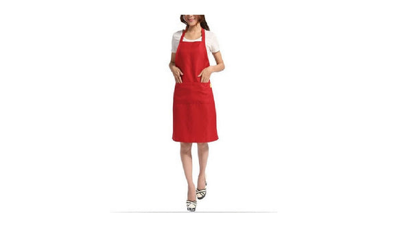 Apron with Front Pocket for Chefs