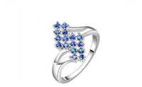 Silver Plated Wedding New Design Finger Ring For Women