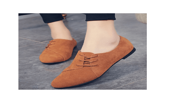 New Women Fashion Lace Up Flat Shoes