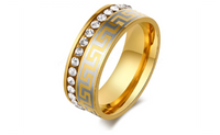 Gold Plated Fashion Ring For Women