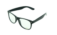 Vintage Student Non-Mainstream Clear Lens Eyeglasse