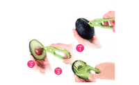 3-in-1 Avocado Slicer Multi-functional Fruit Cutter Knife - sparklingselections