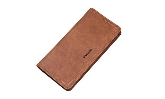 Luxury Folding Business Leather Wallet For Men
