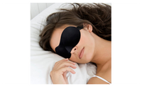 Portable Soft Travel Sleep Rest Aid Eye Sleeping Mask Case