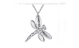 Silver Fashion Nice Square Cubic Zirconia Pendant Necklace