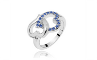 Silver Plated Fashion Marvellous Jewelry Promise Ring
