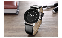 New Black Fashion Cool Quartz Analog Wrist Watch