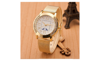 Casual Mesh Stainless Steel Dress Quartz Watch For Women