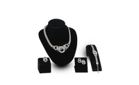 New Vintage African Beads Collar Statement Jewelry Set For Women