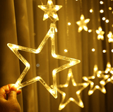 Lighting Stars- String Light Perfect For Parties Decoration