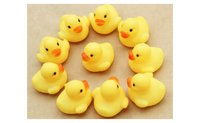 Rubber Duck Baby BathToys Squeaky Pool Float For Children