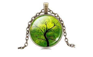 Cute Tree Pattern Fashion Statement Necklace For Women