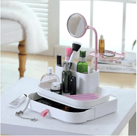 Cosmetic Organizer With Mirror - A Must Have Thing For All Girls