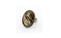 Fashion Retro Leopard Pattern Adjustable Rings For Women (Adustable)