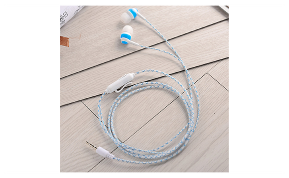 Glow In The Dark Earphones Super Bass Stereo Luminous Earbuds Handsets