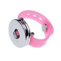 Elastic Rope Style Snap Button Ring for all