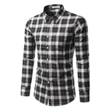 new Cotton Fashion Casual Long Sleeve Shirt size mlxl