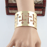Rock Style Hollow out Cuff Bracelets for Women