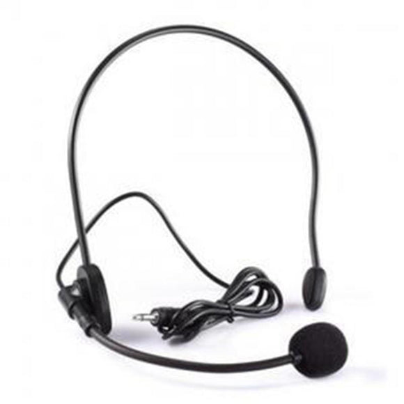 Wired Microphone Portable Headset Speaker Stand Microphones