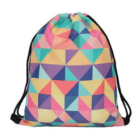 new multi triangle color printing bag for outdoor - sparklingselections