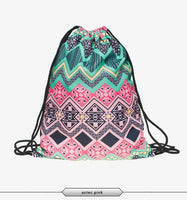 new Fashion 3D Printing Backpack For Girl