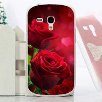 new Painting Flower Perfect Design mini Case Cover For Samsung Galaxy S3 mini - sparklingselections