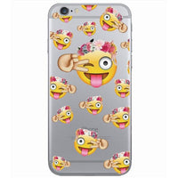 new Smile face Clear Cell Phone Cover for iphone 5, 5s - sparklingselections