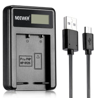 New USB Battery Charger for fuji film NP-W126 - sparklingselections